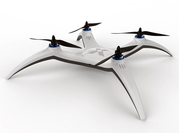 x drone quadcopter