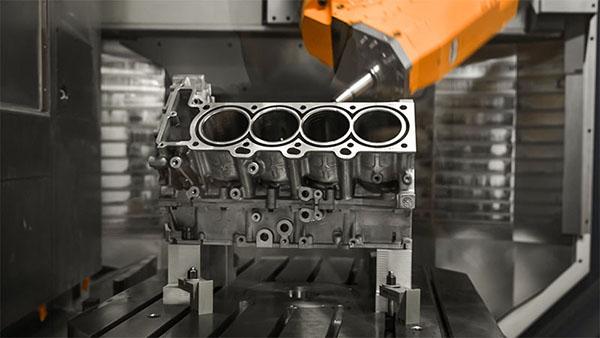 CNC machine automotive parts
